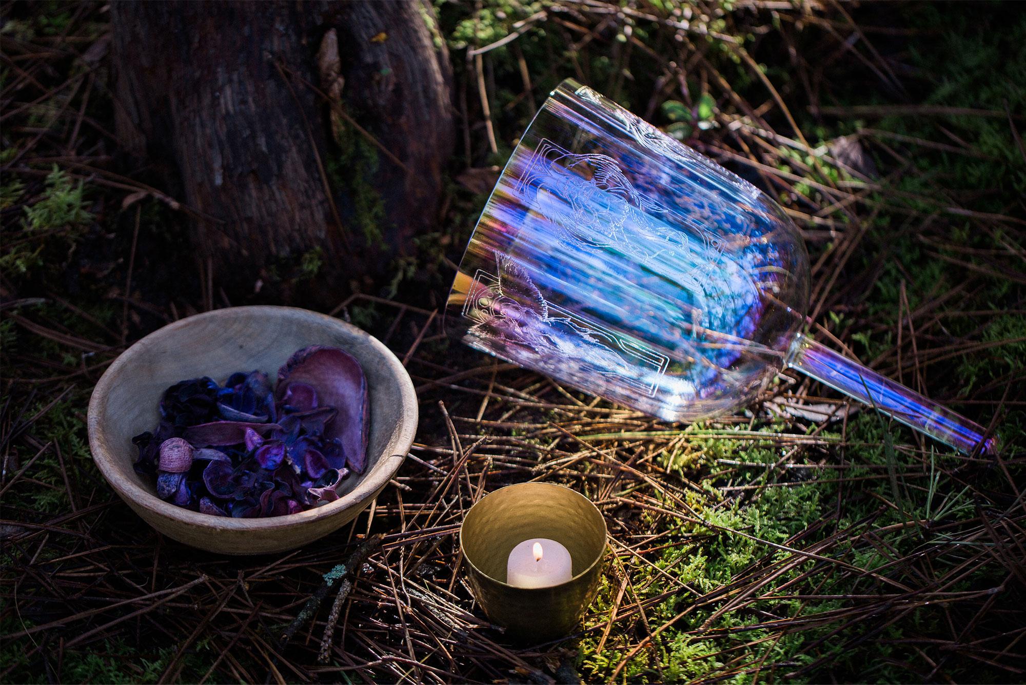 Mon Cahier à Spirales, pratiques et Routines Bien-être avec mon bol de cristal. le cahier Essentiel des sonothérapeutes