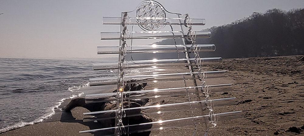 Les harpes de cristal Divine Magie chez Cristal Vibrasons