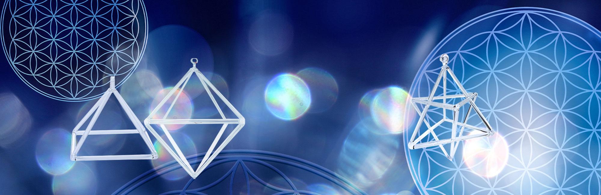 yramide double-pyramide et Merkabah de cristal CONSEILS d'utilisation